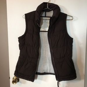 American eagle brown vest